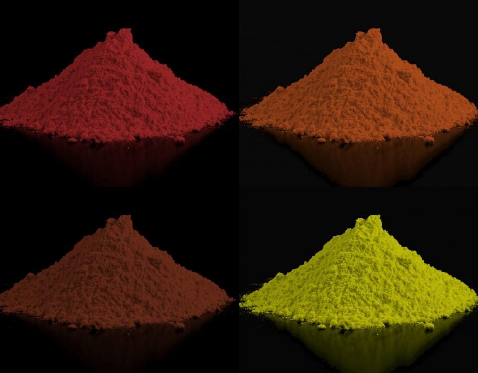 Powder Pigments Pigmentos em Pó