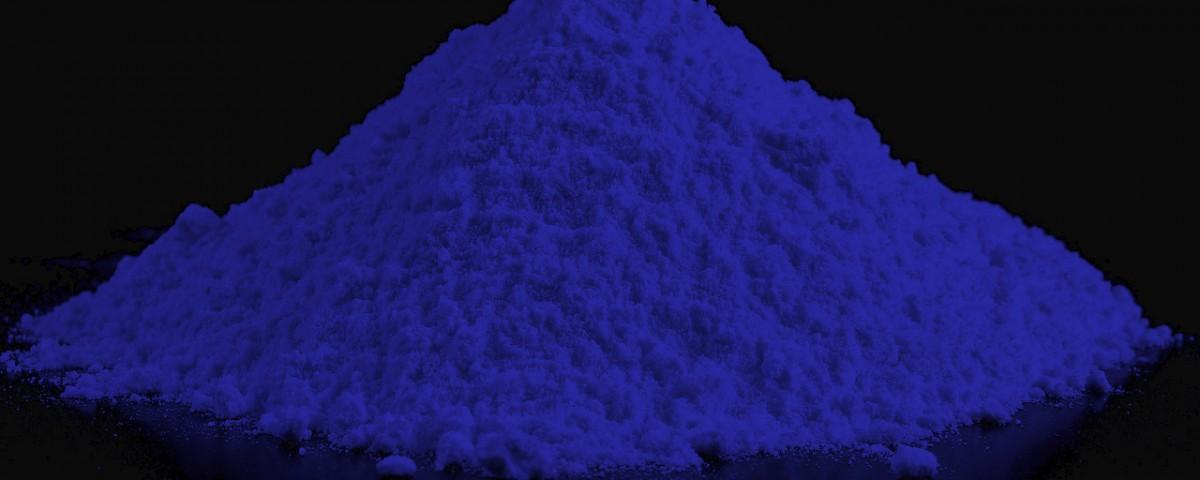 Blue Powder Pigment Pigmento em Pó Azul